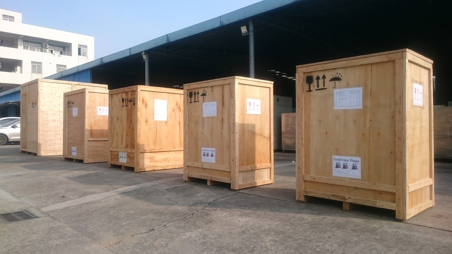 2018-12-21 Shipment | 4050 Liters Temperature Chamber